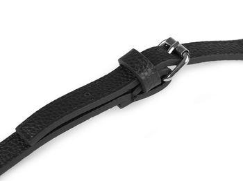 Curea cu carabine (nichel negru) / Negru