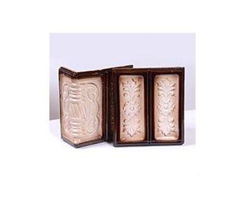 Калушский, плитка угол цвет коричневый с белым