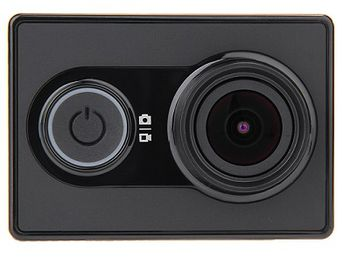 Xiaomi Yi Action Camera + Bluetooth Kit, Black, Video Resolutions: 1080p@60fps, 155°, Ambrella A7LS, Sensor:16MPx Sony (Exmor R BSI CMOS), Microphone, WiFi, Bluetooth, Battery 1010mAh, up to 100 minutes, 70g