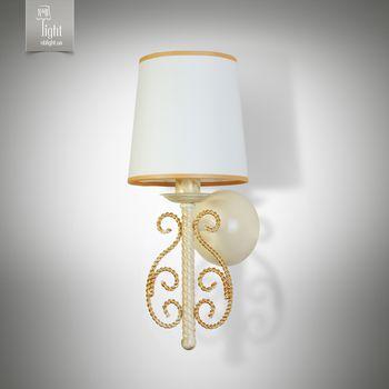 купить N&B Light Бра София 11501-1 крем/золото в Кишинёве