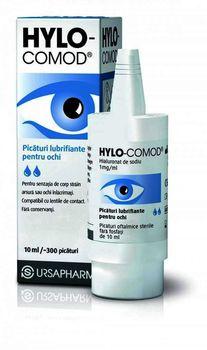 купить Hylo-Comod® pic. oft., sol. 1 mg/ml 10 ml N1 в Кишинёве