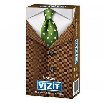 cumpără Prezervative Vizit N12 Dotted (relief punctat) în Chișinău