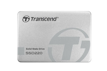 "2.5"" SSD 120GB Transcend Premium 220 Series SATAIII, Aluminum case, Sequential Reads 550 MB/s, Sequential Writes 420 MB/s, Max Random 4k: Read 78,000 IOPS / Write 78,000 IOPS (IOmeter)*, 7mm, SM2256KAB Controller, NAND TLC"