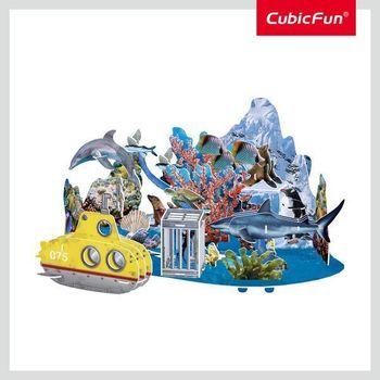 купить CubicFun пазл 3D Undersea Adventure в Кишинёве