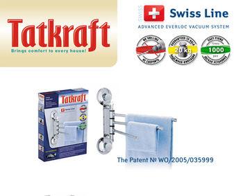купить Вешалка для полотенец настенная Tatkraft Swiss Line 10240-TK в Кишинёве