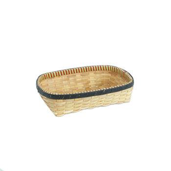 купить Корзина из деревянной стружке и ободком из картона 410х280х100 мм в Кишинёве