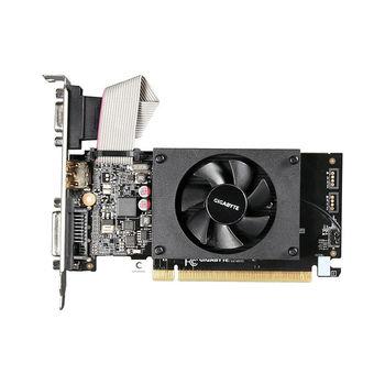 Видеокарта Gigabyte GV-N710D3-2GL 2.0, GeForce GT710 2GB GDDR3, 64-bit, GPU/Mem clock 954/1600MHz, PCI-Express 2.0, D-Sub/DVI-D/HDMI (placa video/видеокарта)