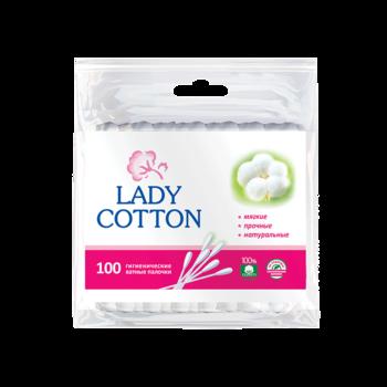 Палочки ватные Lady Cotton, 100 шт.