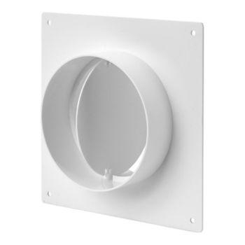 купить Соединитель с обратным клапаном и настенной пластиной д/круглых каналов 125 AFV125 Europlast в Кишинёве