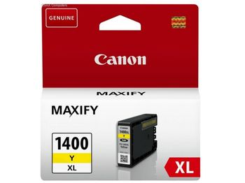 Ink Cartridge Canon PGI-1400XL Y, yellow 12ml for MAXIFY MB2040/MB2340/MB2140/MB2740