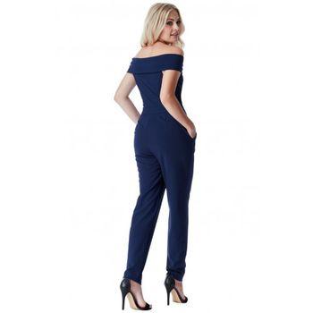 Pantaloni GODDIVA Albastru TR126-NAVY