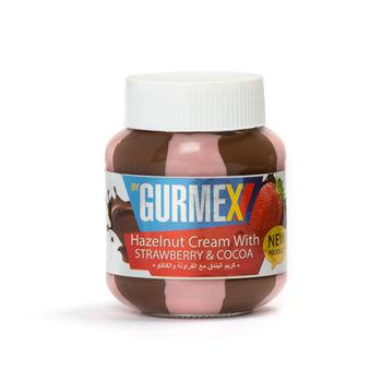 Шоколадная паста с  лесными орехами и клубникой Gurmex 350г