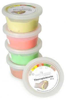 Эспандер терапевтический пластилин Therapie plastilin Dittmann, 85 g, extra strong, koral (1998)