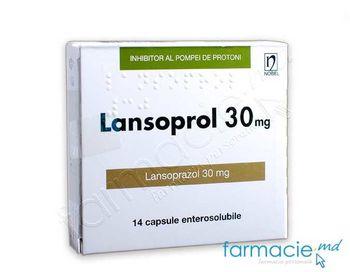 купить Lansoprol® caps. gastrorez.30 mg N14 в Кишинёве