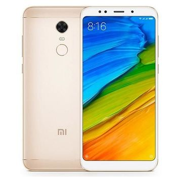 "Xiaomi RedMi 5 Plus EU 32GB Gold, DualSIM, 5.99"" 1080x2160 IPS, Snapdragon 625, Octa-Core 2.0GHz, 3GB RAM, Adreno 506, microSD (dedicated slot), 12MP/5MP, LED flash, 4000mAh, WiFi-N/BT4.2, LTE, Android 7.1.2 (MIUI9.1), Infrared port"