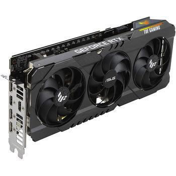 Placa video ASUS TUF-RTX3060TI-O8G-V2-GAMING, GeForce RTX3060Ti 8GB GDDR6, 256-bit, GPU/Mem speed 1785/14Gbps, PCI-Express 4.0, 2xHDMI 2.1/3xDisplay Port 1.4a (placa video/видеокарта)