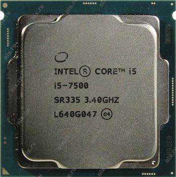 Intel® Core™ i5 7500, S1151, 3.4-3.8GHz, 6MB L3, Intel® HD Graphics 630, 14nm 65W, tray