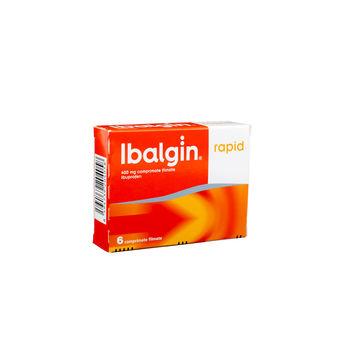 cumpără Ibalgin rapid 400mg comp. film. N6 în Chișinău