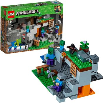 "LEGO Minecraft ""Пещера зомби"", арт. 21141"
