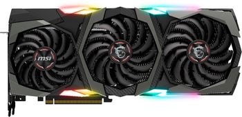MSI GeForce RTX 2080 GAMING X TRIO /  8GB DDR6 256Bit 1860/14000Mhz, 1x HDMI, 3x DisplayPort, 1x USB Type-C, Triple fan - TRI FROZR Thermal Design (Zero Frozr/Airflow Control Tech), TORX Fan3.0 with Double Ball Bearings, RGB Mystic Light, Retail