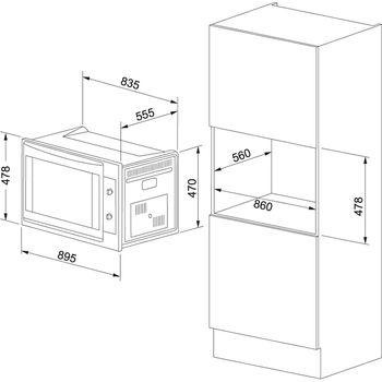 купить Электрический духовой шкаф Franke  Maxi FMXO 86 M XS Inox Satinat в Кишинёве