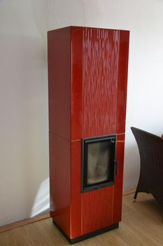 купить Каминная печь - ROMOTOP ARONA с опцией аккумуляционный комплект (накопитель тепла) в Кишинёве