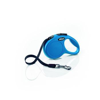 купить Flexi Поводок-рулетка Classic S Tape 5m Blue (15kg) в Кишинёве