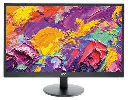 "23.6"" AOC MVA LED M2470SWH Black (5ms, 20M:1, 250cd, 1920x1080, 178°/178°, VGA, 2xHDMI, Speakers 2 x 2W, Audio Line-out, VESA)"