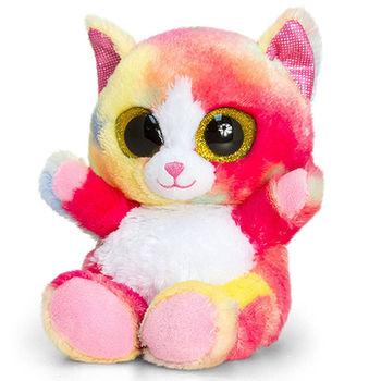 Animotsu Модная Кошечка, радужная 25 см, код 42837