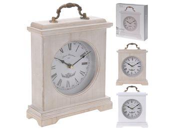cumpără Ceas-desteptator de masa 20.5X23X6.5cm, din lemn în Chișinău