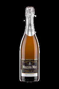 Игристое Вино Moldova de Lux Белое Мускатное Полусладкое