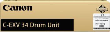 Drum Unit Canon C-EXV34 Black, 43 000 pages A4 at 5% for Canon ADV iRC2020L,20i,25L,25i,30L,30i