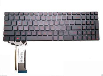 Keyboard Asus ROG GL551JW-AH71 GL551JM-EH74 GL552 GL752 Backlit ENG/RU Black