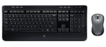 Keyboard Logitech Wirelles Combo MK 520 usb, Keyboard+laser mouse (m310)