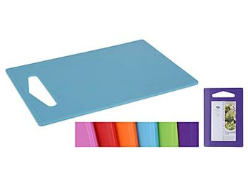 Доска разделочная пластиковая 27X16.5cm, разных цветов