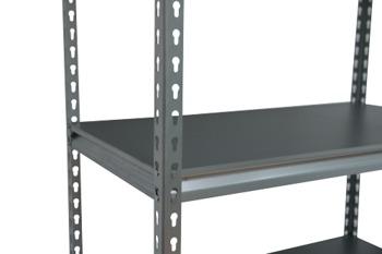 cumpără Raft metalic galvanizat Moduline 900x480x1830 mm, 5 polițe/0164PE antracit în Chișinău