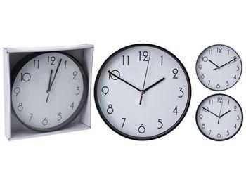cumpără Ceas de perete rotund D30cm, culoare nergu/alb în Chișinău