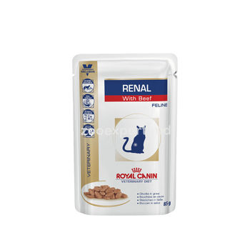купить Royal Canin RENAL С ГОВЯДИНОЙ 85 gr в Кишинёве