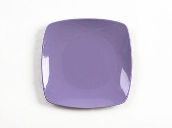 Тарелка десертная 20X20cm Tognana Timesqua, сиреневая