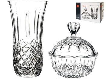 Подарочный набор Opera (ваза 25cm+конфетница с крышкой)