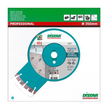 cumpără Disc diamant Distar 1A1RSS/C3-H 350x3,5/2,5x15x25,4-(11,5)-24 Technic Advanced în Chișinău