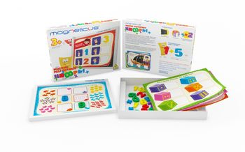 cumpără Magneticus set creaţie Mozaica Сifre 35 ele în Chișinău