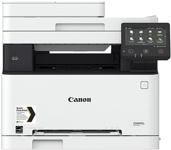 MFD Canon i-Sensys MF635CX, Color Printer/Copier/Scanner/FAX,ADF(50-sheet),Duplex,Net,WiFi,USB-Host,A4,18ppm,1GB,1200x1200dpi,52-163g/m2,Scan 9600x9600dpi,150+1-sheet tray,Adobe® PostScript,Max.30k pages per month,Cart 045HBk/045Bk+045HC/M/Y/045C/M/Y