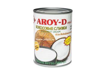 Кокосовые сливки Aroy-D 70%, 400 мл