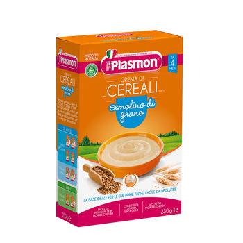 cumpără Plasmon Terci Cereale gris crema, + 4 luni, 230g în Chișinău