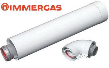 купить Удлинитель дымохода Immergas (Prolunga Eolo) L=1.0m в Кишинёве