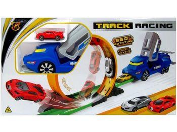 Трек для гон. машин с системой запуска 45.5X26.5cm