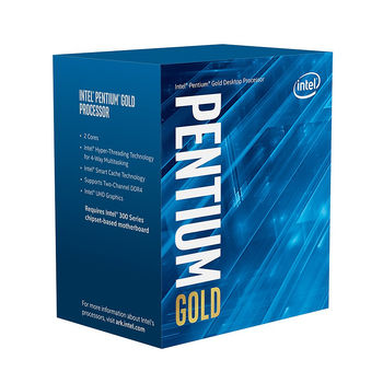 Процессор CPU Intel Pentium Gold G6400 4.0GHz Dual Core 4-Threads, (LGA1200, 4.0GHz, 4MB, Intel UHD Graphics 610) BOX with Cooler, BX80701G6400 (procesor/процессор)