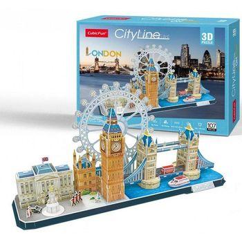 cumpără CubicFun puzzle 3D City City Line London în Chișinău
