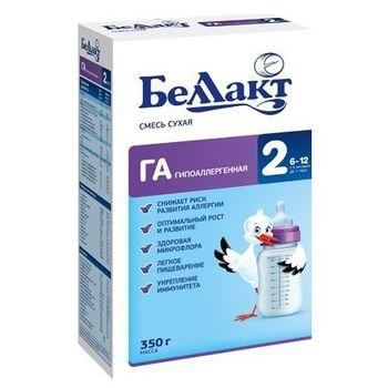 купить Беллакт молочная смесь Гипоаллергенная 2, 6-12 мес. 350 г в Кишинёве